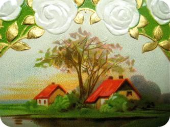 Home vignette postcard