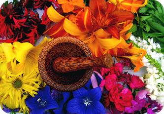 Flowermortar