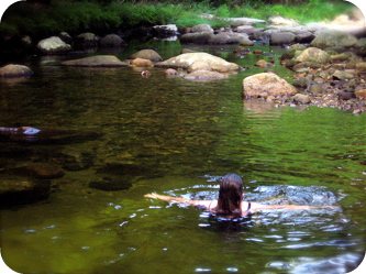 Takingaswim