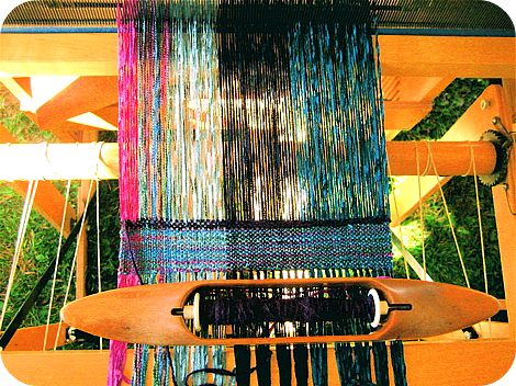 Loom closeup