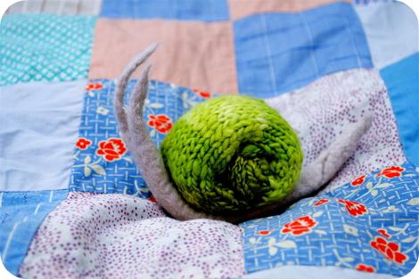 Knit Snail