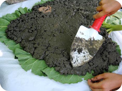 GardenMama: .: Garden Art Leaf Sculptures ~ Tutorial :.
