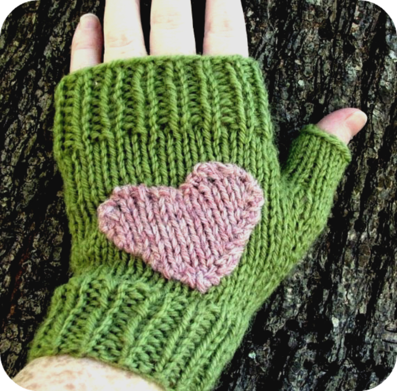 Fingerknit gloves